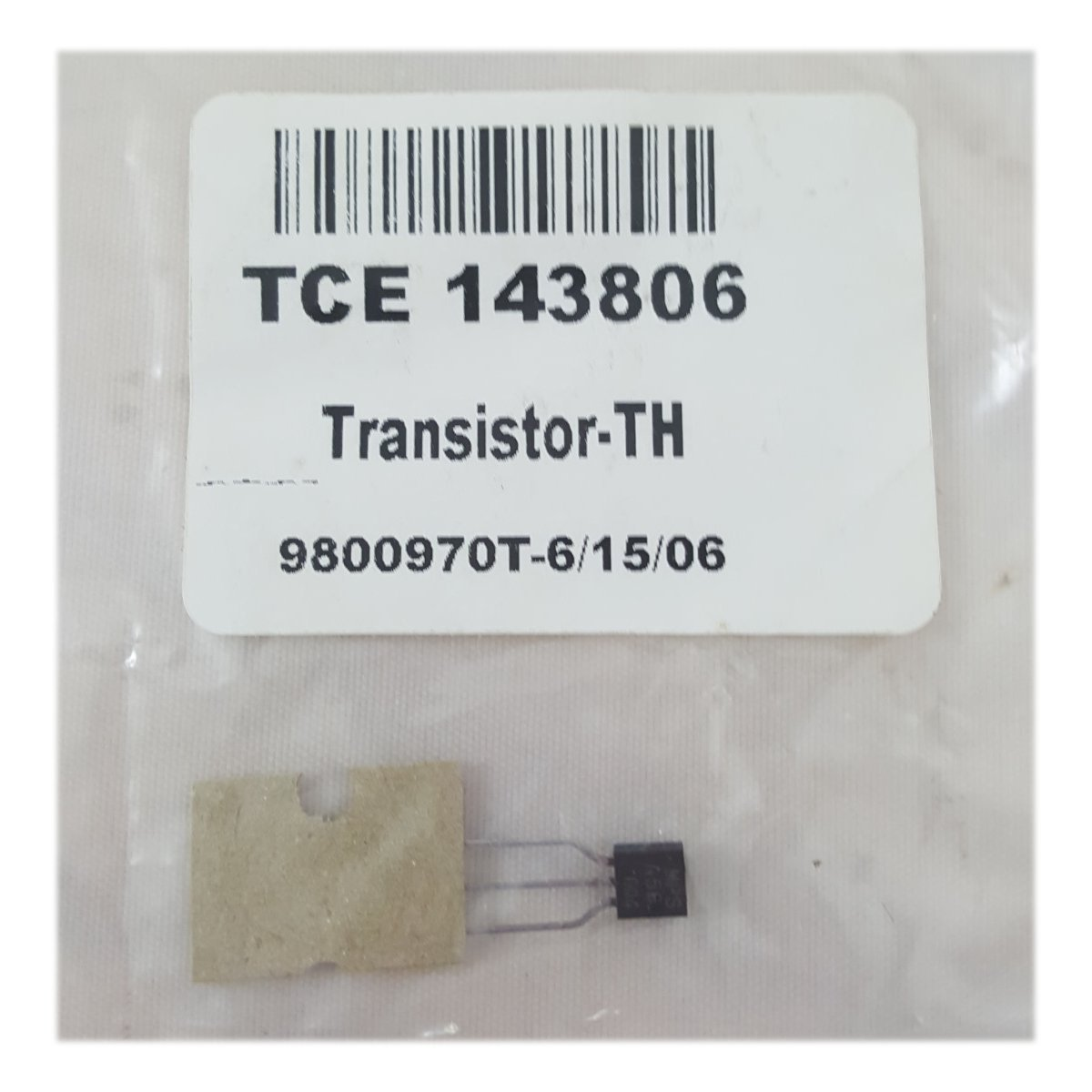 RCA VCR Replacement Transistor Part No. TCE 143806