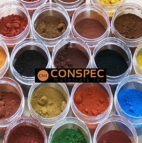 Cement Color Powder : Conspec oz surf blue powdered color for concrete cement