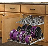 Rev-A-Shelf 5CW2-2122-CR 21-Inch Two-Tier Cookware Organizer
