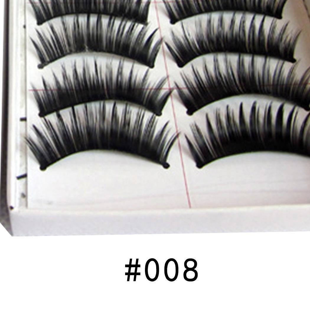 Youcoco Thick Section Eye Decoration Realistic False Eyelashes Lash Enhancers & Primers