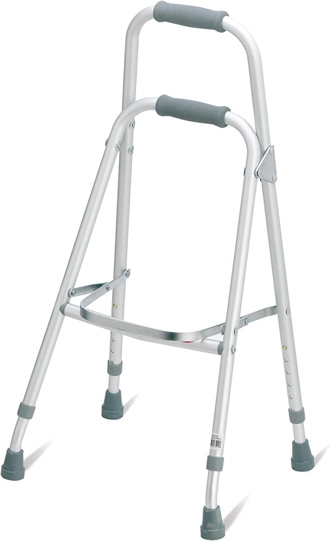 YXNZ Elderly Walker Up and Down Stairs Walker Lightweight Aluminum Adjustable Mobility Walking Aid-Retractable Four-Pointed Cane Color : C