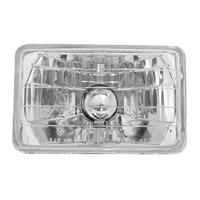 "GG Grand General 77400 6.5"" x 4.17"" Headlight (Rectangle 165M/M X 106M/M with H4 Bulb): Automotive"