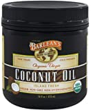 Barleans Organic Virgin Coconut Oil, 16oz (3 Pack)
