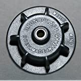 Brunoplast Nivifix tile leveling system re-usable BLACK draw caps in a bucket of 150 pieces for tile thickness 3-12 mm / 0.12-0.47 inch (Paving System, Tile Laying, Tile Installation)