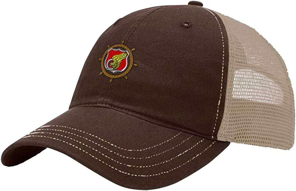 Custom Trucker Hat Richardson Transportation Corps Embroidery Unit Cotton Snaps