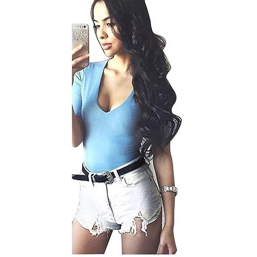 3f8a6657a0 Amazon.com: Denim Women Short Fashion Brand Vintage Tassel Ripped ...