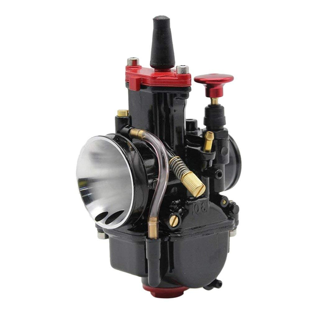 Ocamo Carburetor PWK28 30 32 34MM Gasoline Generator Carburetor for ATV UTV Yamaha etc 28mm