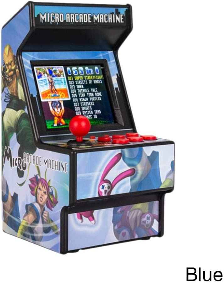 16bit Mini Arcade Game Machine Retro incluida de 156 Juegos electrónicos de Bolsillo clásico: Amazon.es: Hogar