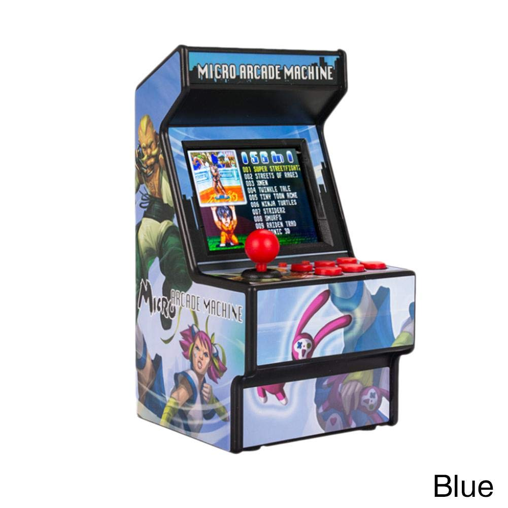 Mini Arcade Handheld Game Console Classic Retro New Street Fighter Home Arcade Game Console 16 Bit Console
