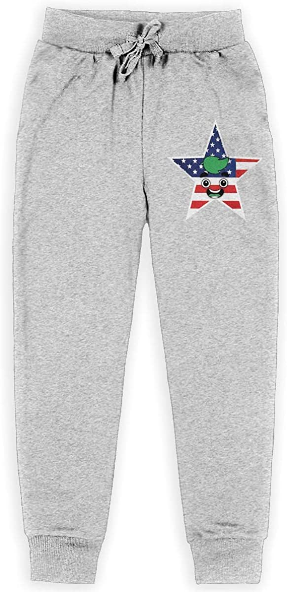 KBRWLOVEPANT Boys Girls Guava Juice Logo Jogger Sweatpants Youth Joggers Sport Training Pants