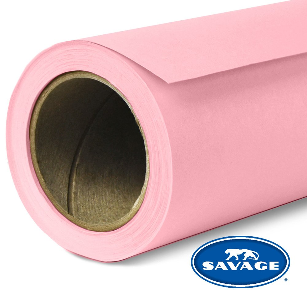 Savage Seamless Background Paper - #3 Coral (86 in x 18 ft) by Savage
