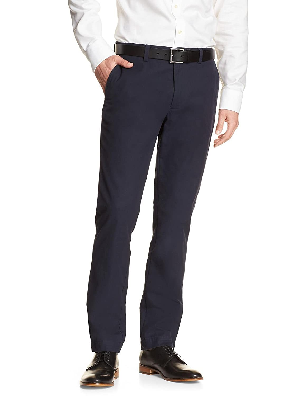 1ceafff136 Top4: Banana Republic Men\'s Aiden Slim Fit Dress Pants True Navy Blue 36W  x 30L