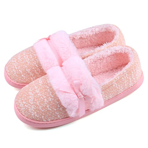 06502eb59 Amazon.com | Neeseelily Women Warm Winter Cute Plush Home Slippers ...