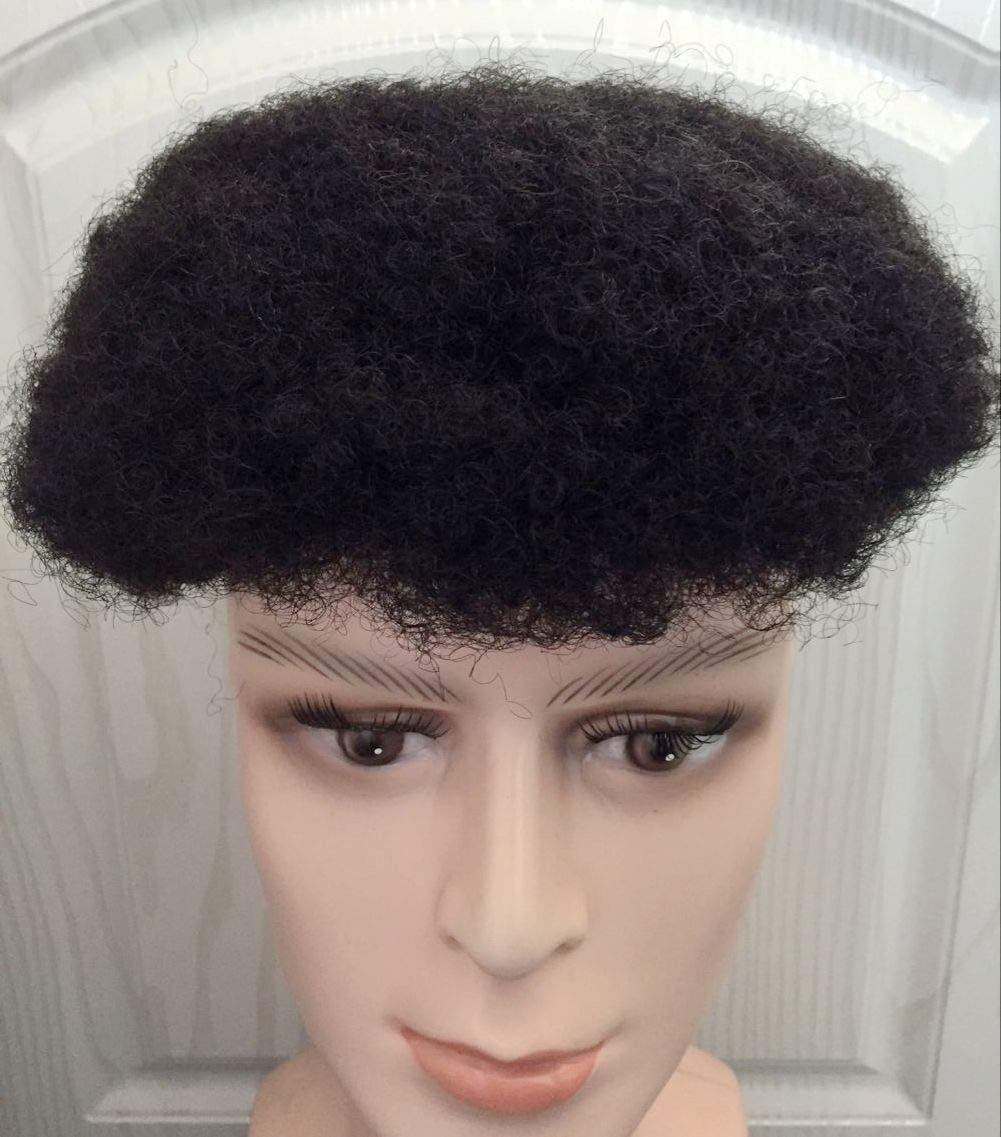 Amazon Com Hot Style Hair Afro Toupee Curly Full Lace Hair