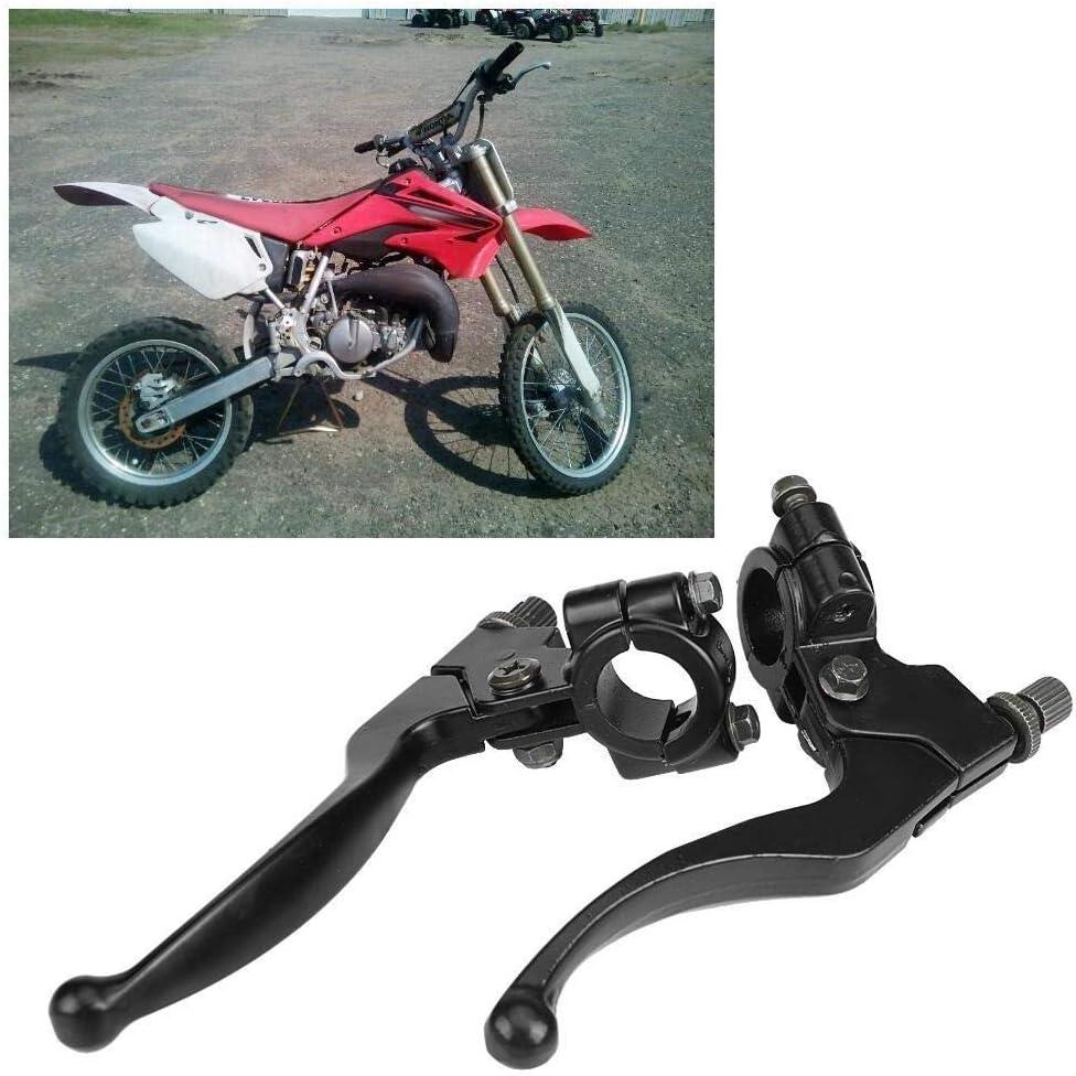 Nancunhuo Bremshebel-1Pair Motorrad Einstellbare Folding Bremskupplungshebel