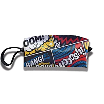 Amazon.com: FRTSFLEE Pencil Bag Makeup Bag Boom Bam Hip Pop ...