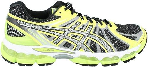 Asics Gel-Nimbus 15 Lite-show del hombre de zapatillas de atletismo, negro (Negro), 41: Amazon.es: Zapatos y complementos