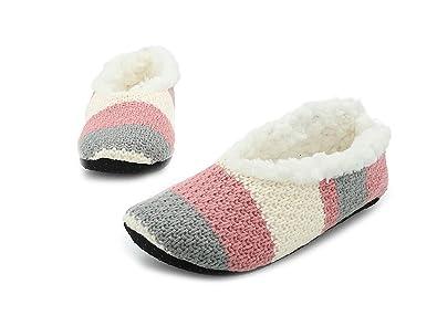 ampia scelta di colori all'ingrosso online fascino dei costi CityComfort Pantofole Invernali da Donna con Pelliccia Ecologica Ciabatte  da Casa Babucce Morbide
