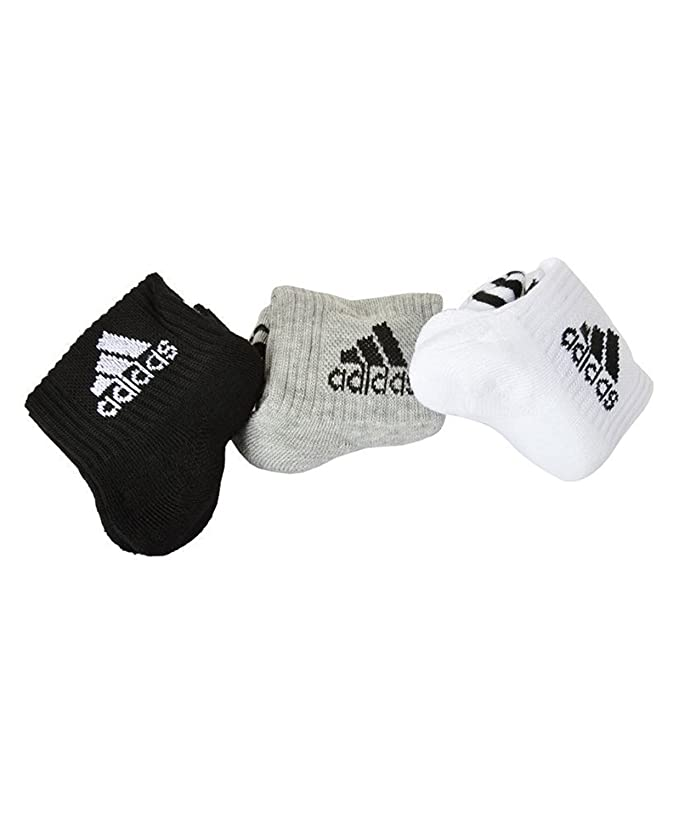 Adidas Men\'s Cotton Ankle Length Socks  Multicolour  Sportswear