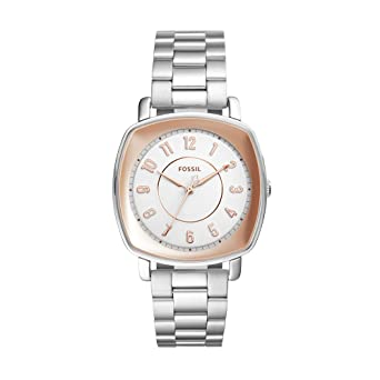 Fossil Womens ES4194 Idealist Three-Hand Stainless Steel Watch