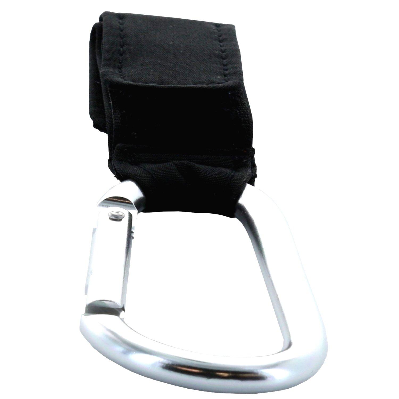 XiRRiX hochwertige Karabiner Kinderwagenhaken Halterung Stroller Hooks 2 St/ück Taschenhalter zum Befestigen am Kinderwagen//Buggy