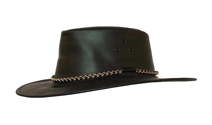 Kakadu Australia - Sombrero Cowboy - Básico - para Hombre Negro Small a9d23ba225c