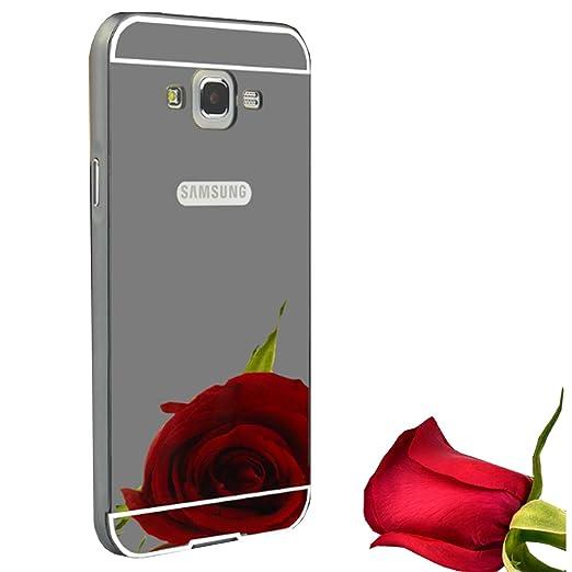 3 opinioni per Cover Samsung Galaxy J3 (2016), LXHGrowH Custodia a Specchio per Samsung Galaxy