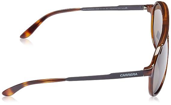 Unisex New Champion SP 8F8 Sunglasses, Dkhvn Shyblk/Bronze Pz, 62 Carrera