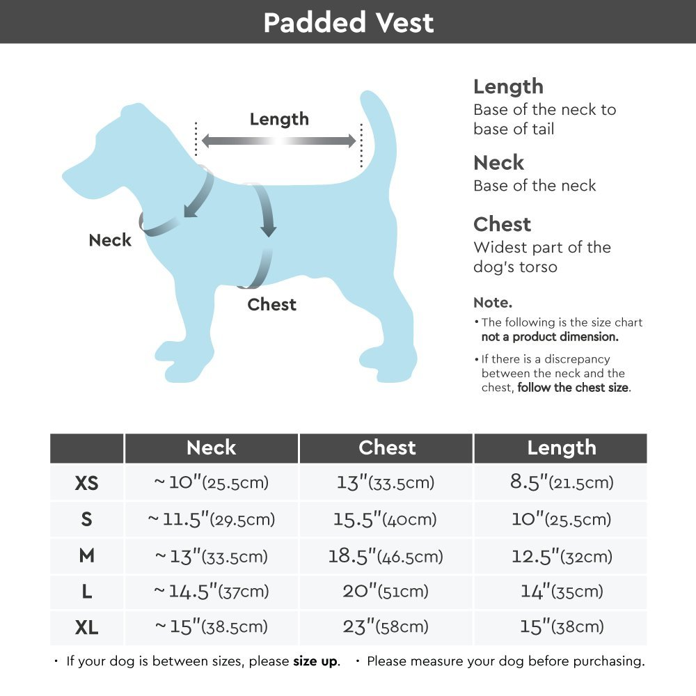 Gooby Padded Cold Weather Vest for Small Dogs with Safe Fur Guard Zipper Closure, Red, Medium by Gooby (Image #5)