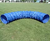 15 ft Practice Fabric Tunnel w/24'' diameter and Carry Bag