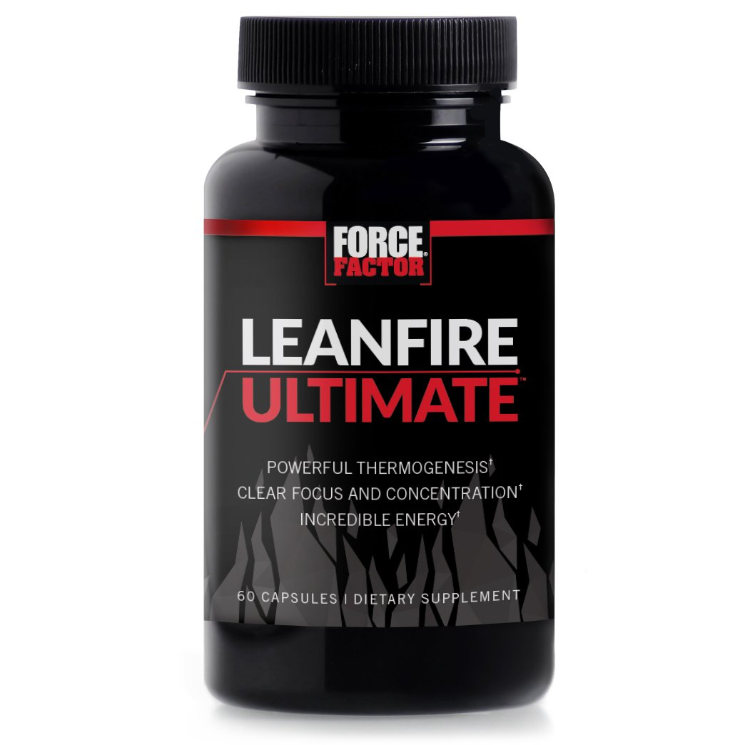 Force Factor LeanFire Ultimate Premium Weight Loss Thermogenic to Support Fat Oxidation with Added Energy, Focus, Concentration, Appetite Control, 60 Count Thanks so Much in Advance!