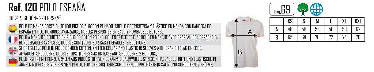 Emilio Fernández Polo Bandera España 100% Algodón