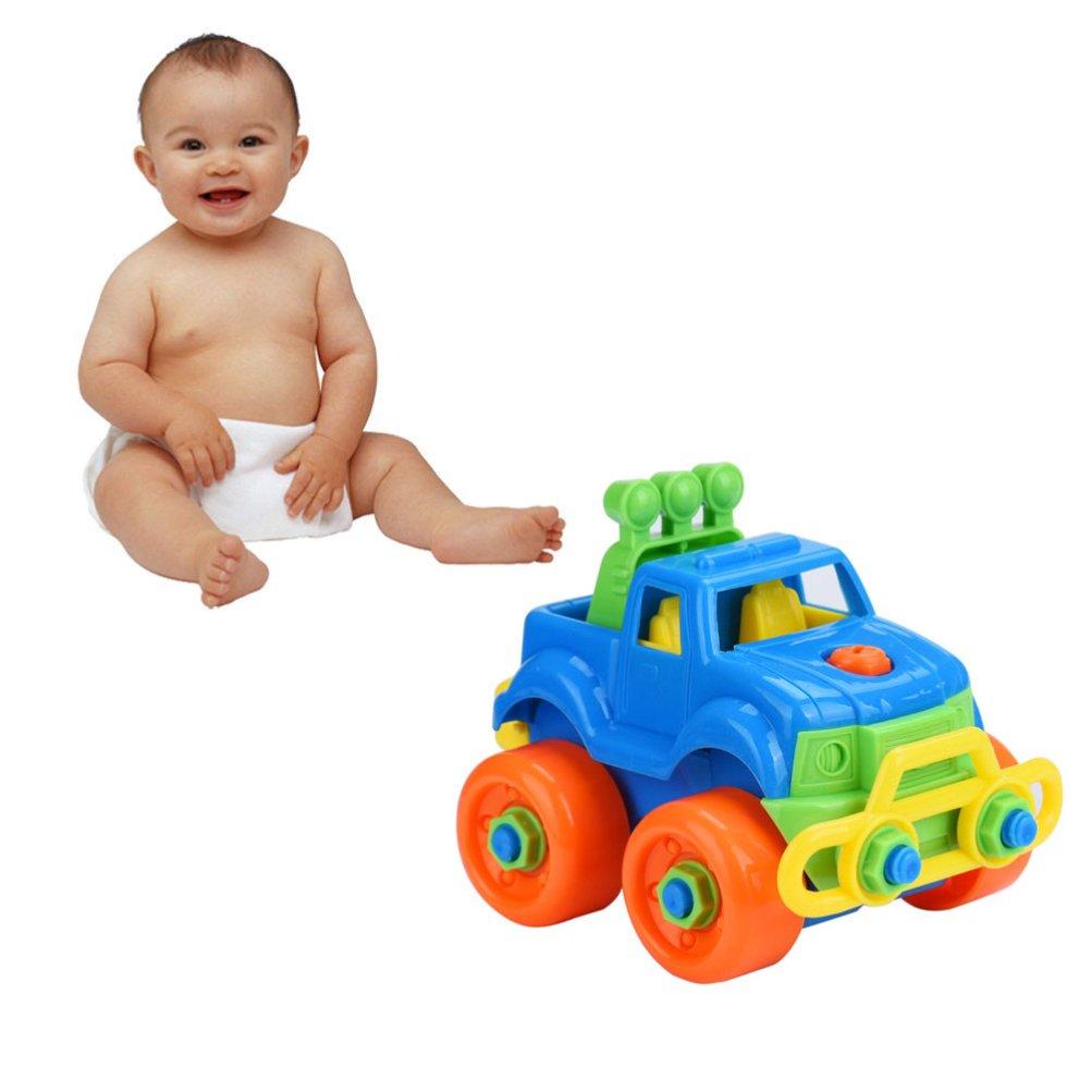 Assembly Car Model Toys Baby Kids Children Educational Developmental Toys Gifts