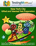 img - for NYC Gifted and Talented Test Preparation Workbook for OLSAT and NNAT2 Level A   Pre-K and Kindergarten book / textbook / text book