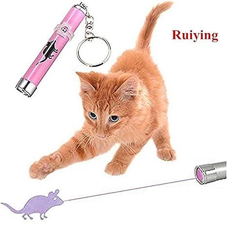 "Juguete Bolígrafo Infrarrojo de gato de taquinerie luz se projetait para Image ""Ratón"""