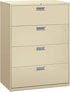 product image for 600 Series 4-Drawer File Finish: Putty