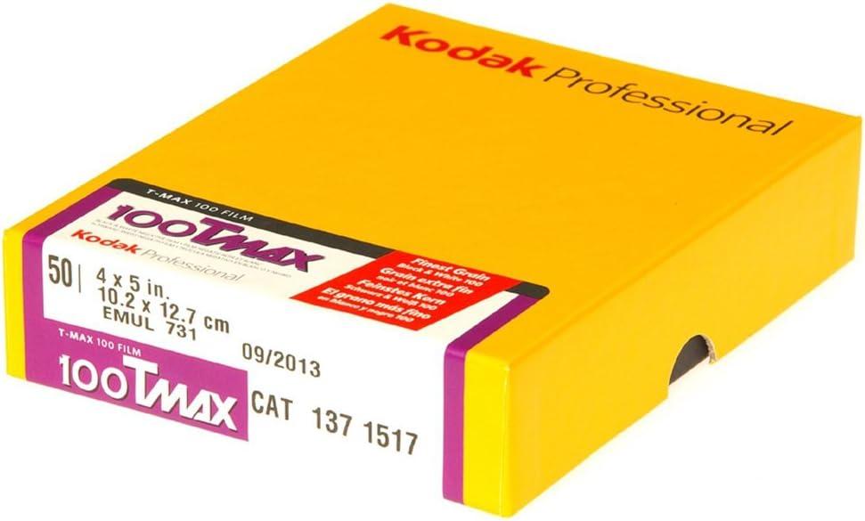 Kodak T Max 100 10 2 X 12 7 Cm Schwarz Kamera