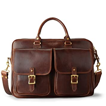 6eb6e0e38dd J.W Hulme Editor Business Leather Briefcase and Organizer, American  Heritage Leather