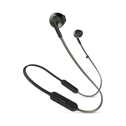 JBL Tune 205BT Dentro de oído Binaural Inalámbrico Negro - Auriculares (Inalámbrico, Dentro de