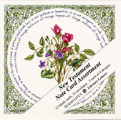 New Testament Note Card Assortment - 12 ct