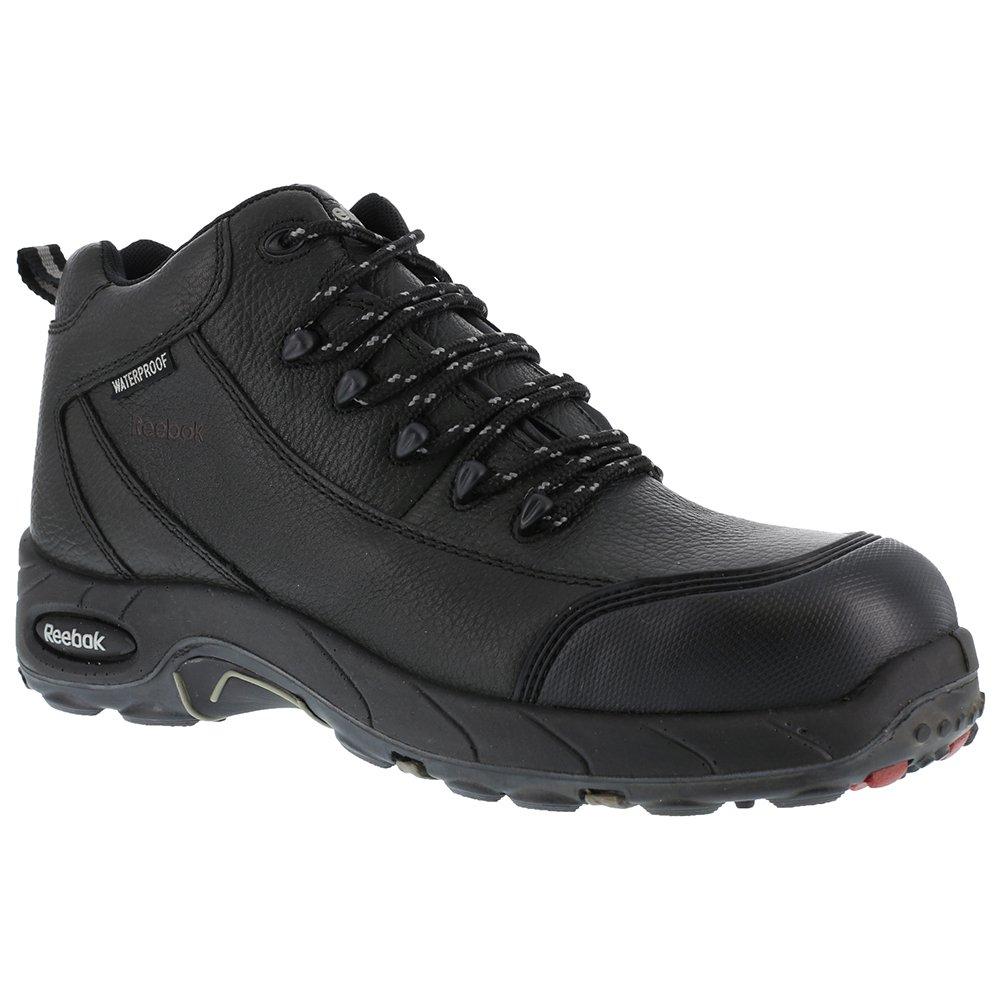 Reebok Women's Tiahawk Waterproof Sport Hiking Boot Composite Toe Black 7.5 D(M) US