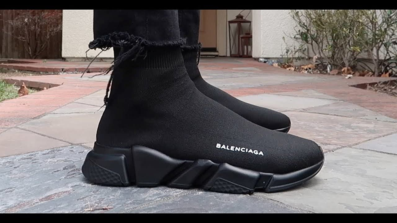 How to Style BALENCIAGA Speed Trainers YouTube