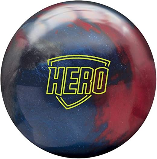 Brunswick Hero Bowling Ball- Crimson Indigo Charcoal