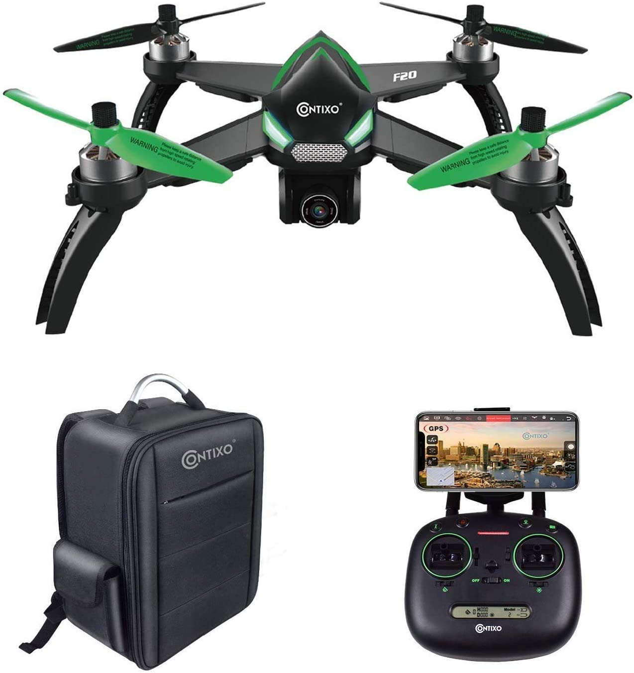 Contixo F20 is at #8 for best drones under 300 dollars