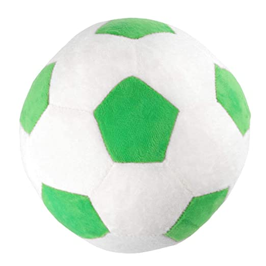 Toyvian - Peluche de balón de fútbol, diseño de balón de fútbol ...