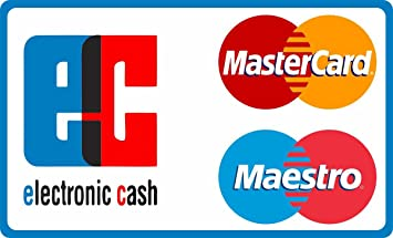 Maestro Ec Karte.Aufkleber Kartenzahlung Keine Kartenzahlung Möglich Ec Karte