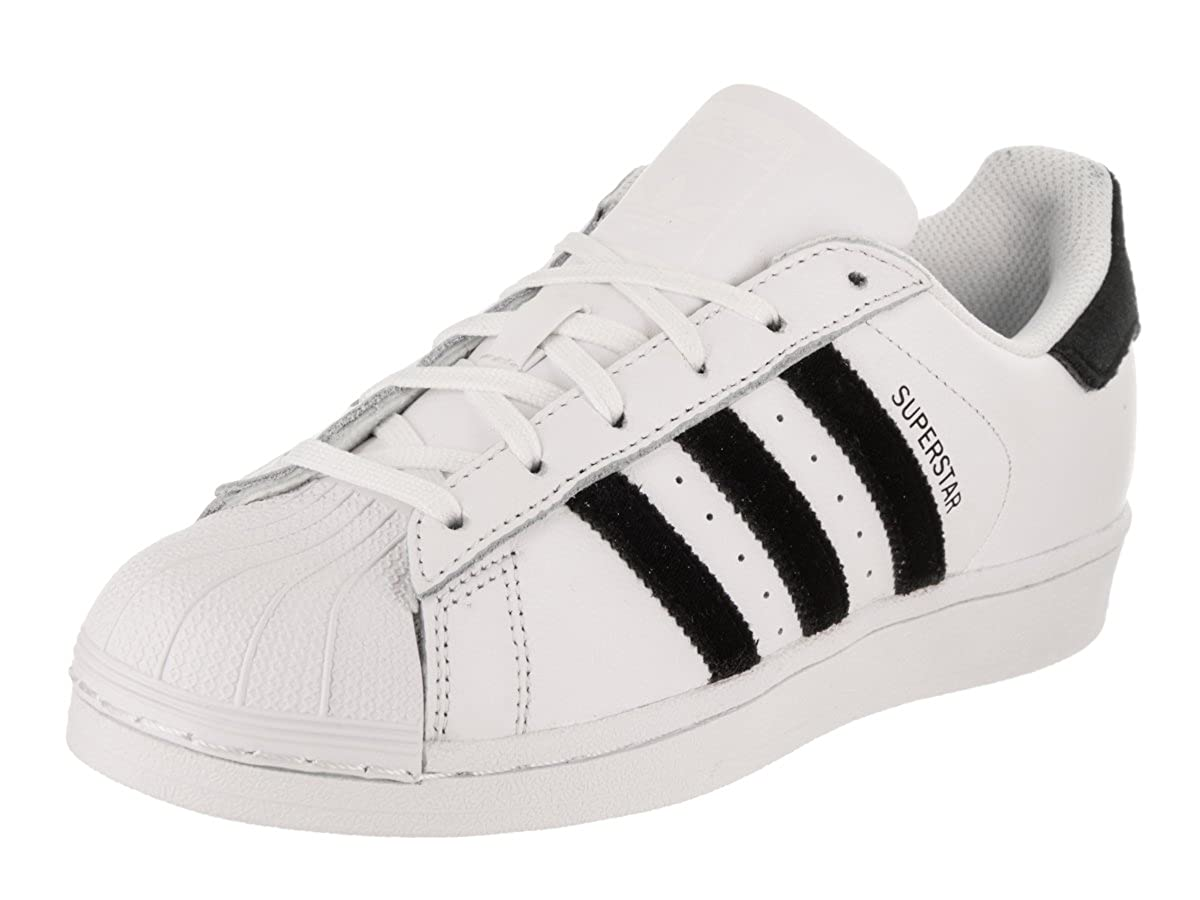 adidas Originals Kids Unisex Superstar Velvet (Big Kid) CP9333