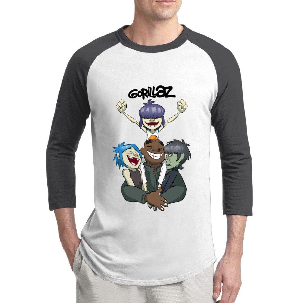 Aolm S New Gorillaz 34sleeve Raglan Tshirt