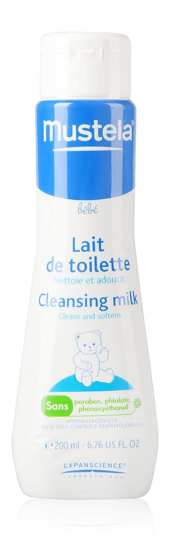 Mustela Bébé Lait de Toilette Flacon Pompe 500 ml Laboratoire Expanscience 28610