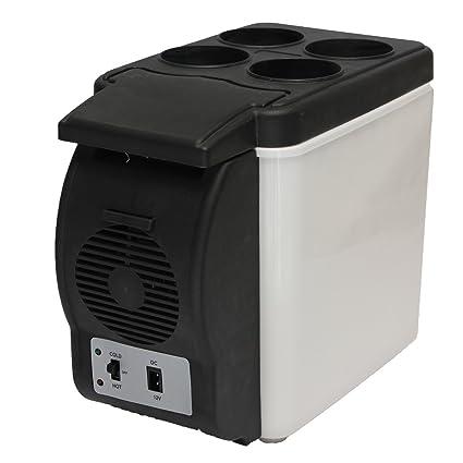 Amazon.es: AUDEW Coche Mini Nevera Portátil Eléctrica Para ...